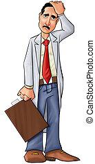 άθυμος , γιατρός
