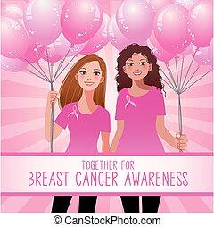 άκρον άωτο κορδέλα , γενική ιδέα , - , γυναίκα αμπάρι , ροζ , μπαλόνι