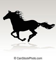 άλογο , τρέξιμο