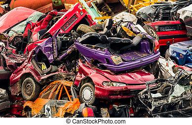 άμαξα αυτοκίνητο , αγορά με παλιά αντικείμενα