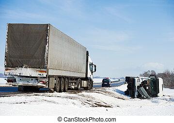 άμαξα αυτοκίνητο αεροπορικό δυστύχημα , χειμώναs