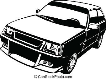 άμαξα αυτοκίνητο. , μικρό