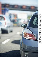 άμαξα αυτοκίνητο , πάνω , πελτέs , κυκλοφορία , αμυντική γραμμή , εθνική οδόs