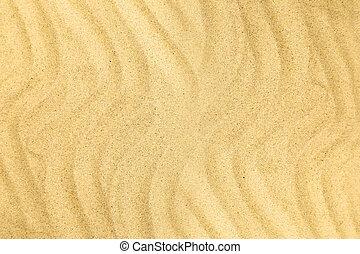 άμμος ακρογιαλιά , μέσα , ο , καλοκαίρι