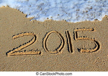 άμμοs , έτος , 2015, ακρογιαλιά. , καινούργιος , γραμμένος