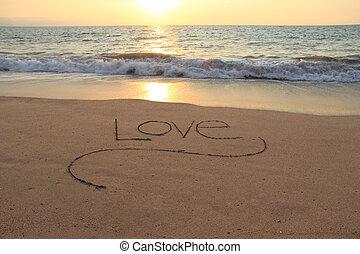 άμμοs , αγάπη