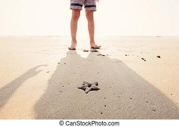 άμμοs , αστερίας