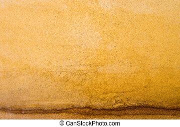 άμμοs , κίτρινο , πλοκή , φόντο