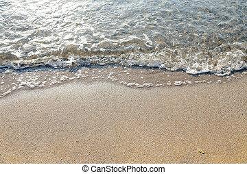 άμμοs , sea., κύμα