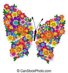 άνθινος , άνοιξη , πεταλούδα