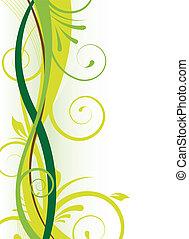 άνθινος , πράσινο , σχεδιάζω