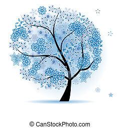 άνθινος , όμορφος , δέντρο
