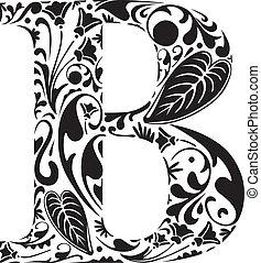 άνθινος , b
