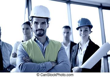 άνθρωποι , αξιωματικός μηχανικού , συνάντηση , δομή , επιχείρηση