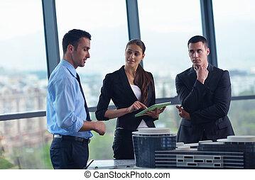 άνθρωποι , αξιωματικός μηχανικού , συνάντηση , επιχείρηση