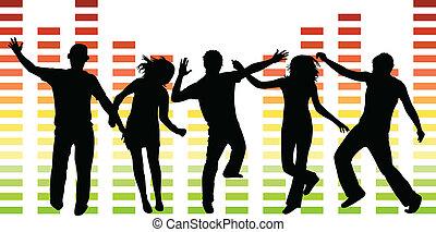 άνθρωποι , εικόνα , χορός