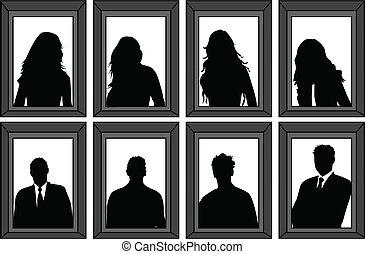 άνθρωποι , ζωντανή περιγραφή προσώπου , - , αποτελώ το πλαίσιο , απεικονίζω σε σιλουέτα , μικροβιοφορέας