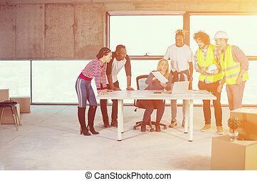 άνθρωποι , θέση , δομή , multiethnic , επιχείρηση
