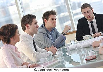 άνθρωποι , συνάντηση , επιχείρηση
