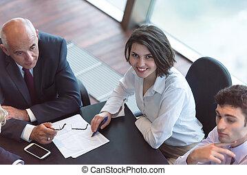 άνθρωποι , συνάντηση , σύνολο , επιχείρηση