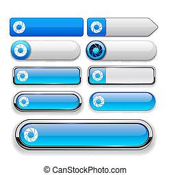 άνοιγμα , ιστός , κουμπί , high-detailed, collection.
