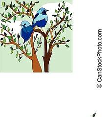 άνοιξη , πουλί