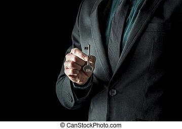 άντραs , ανάμιξη αμπάρι , κλειδί