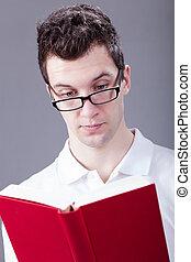 άντραs , βιβλίο , διάβασμα