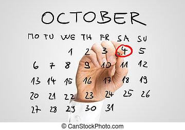 άντραs , δακτυλίδι , κόσμοs , ζώο , ημέρα , μέσα , κόκκινο , επάνω , ένα , ημερολόγιο