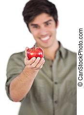 άντραs , δικός του , μήλο , αμπάρι ανάμιξη