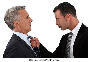 άντραs , δικός του , fed-up , αφεντικό , νέος