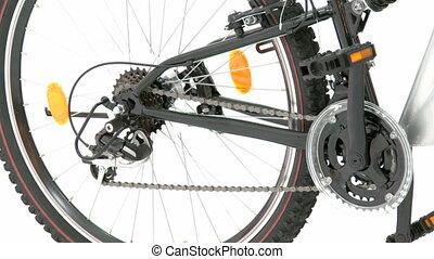 άντραs , με , ποδήλατο