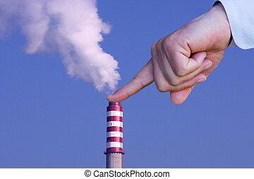 άντραs , με , χέρι , κατασκευή , σταματώ , να , περιβάλλοντος , ρύπανση
