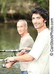 άντρεs , ψάρεμα