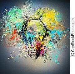 άπειρος αντίληψη , δημιουργικός