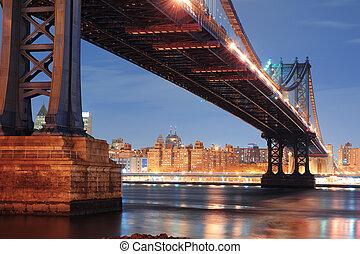 άπειρος york άστυ , είδος κοκτέιλ γέφυρα