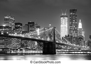 άπειρος york άστυ , brooklyn γέφυρα
