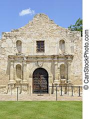 άρθρο alamo , μέσα , san antonio , texas , η π α