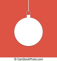 άσπρο , αρχίδια , περίγραμμα , xριστούγεννα