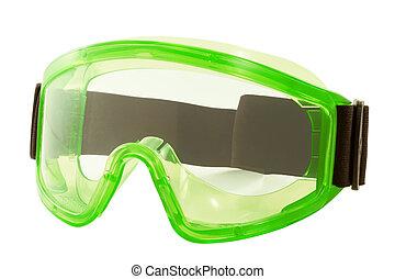 άσπρο , ασφάλεια , φόντο , γυαλιά