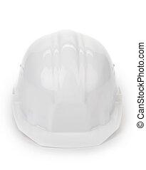 άσπρο , ασφάλεια , helmet.