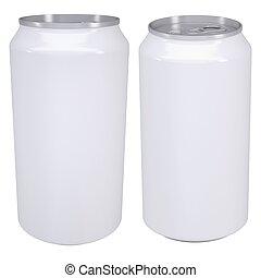 άσπρο , αφέψημα , cans , αλουμίνιο