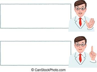 άσπρο , γιατρός , επιγραφή