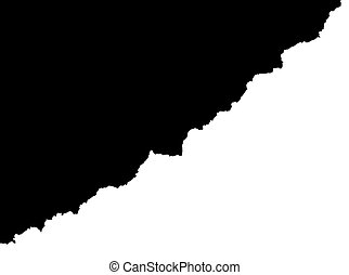άσπρο , μαύρο φόντο