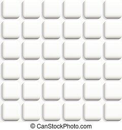 άσπρο , πλοκή , - , seamless.
