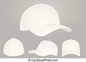 άσπρο , σκούφοs , μπέηζμπολ