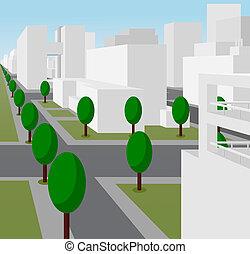 άστυ αστικός δρόμος , μοντέρνος