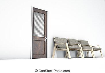 έδρα , αίθουσα αναμονής