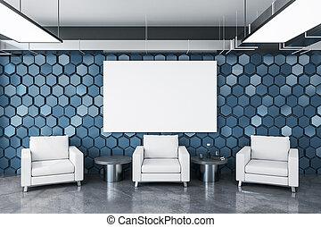 έδρα , δωμάτιο , αναμονή , τρία