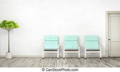 έδρα , δωμάτιο , τρία